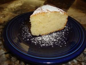 Lemon Cake slice