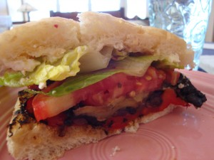 Veg sandwich 300x225 Vegetables 3 Ways for a Luncheon or Supper Sandwich