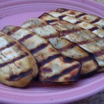 grilled eggplant 150x150 Vegetables 3 Ways for a Luncheon or Supper Sandwich