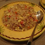 fried rice for hawaiian themed labor day grilling