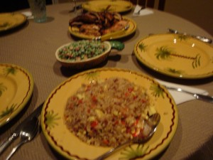 fried rice side dish for hawaiian themed labor day grilling