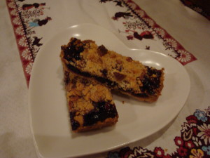 Savory and Sweet Crumble Bars