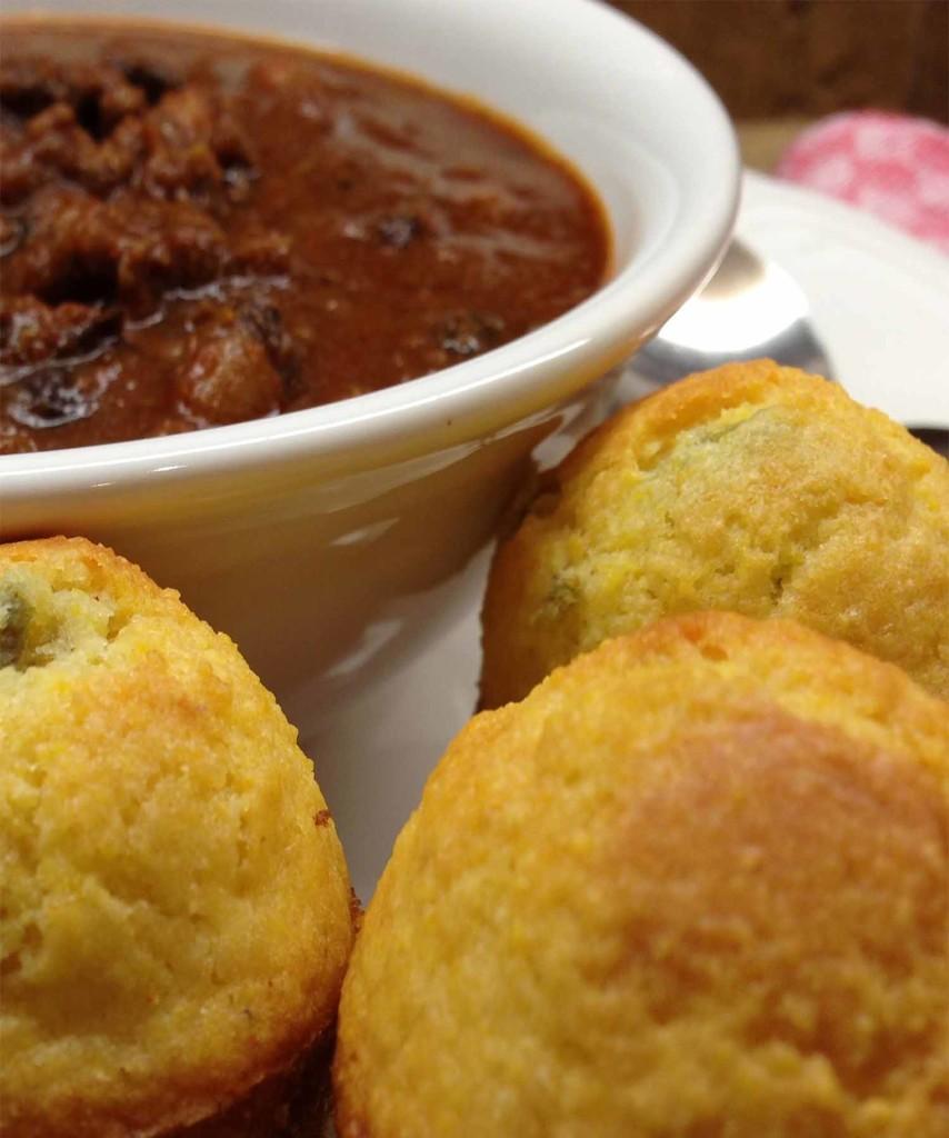 Chili Jalapeño Muffins