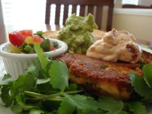 Yucatan Fish Cakes Meal