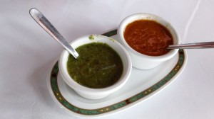 Green and Red Mojo Sauce