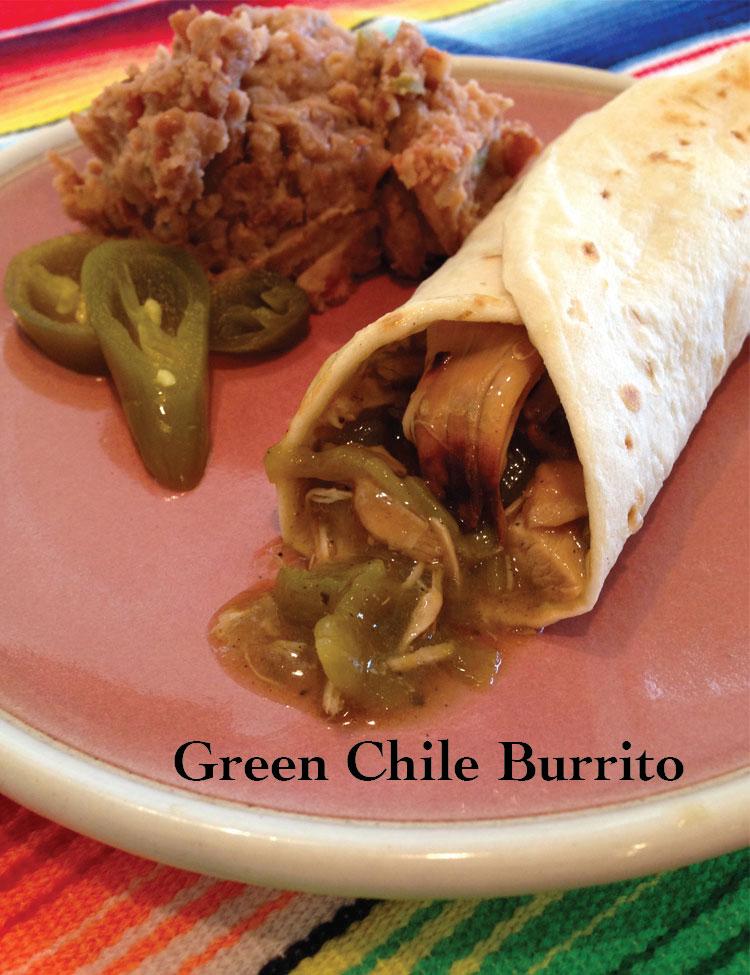 Green Chile Burrito