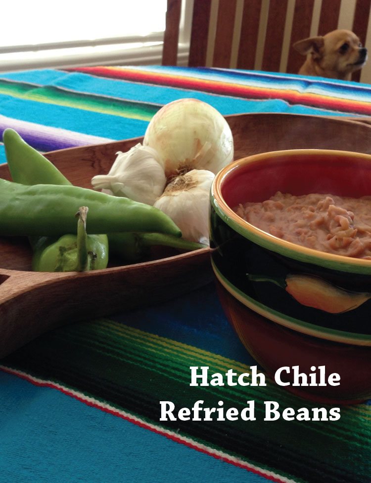 Hatch Chile Refried Beans