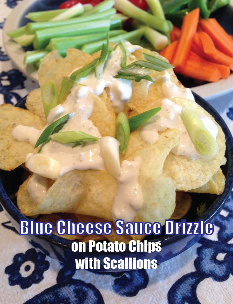 Blue Cheese Sauce Drizzle