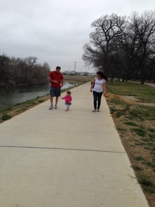 Trinity River walk