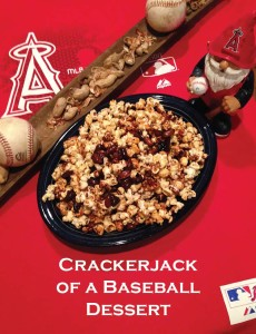 Crackerjack of a Baseball Dessert