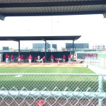 Minors pitching drills