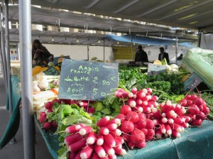 Farmer's market Parix