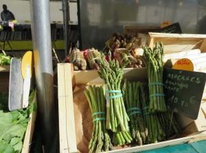 Asparagus farmers market