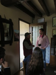 Talking with a winemaker
