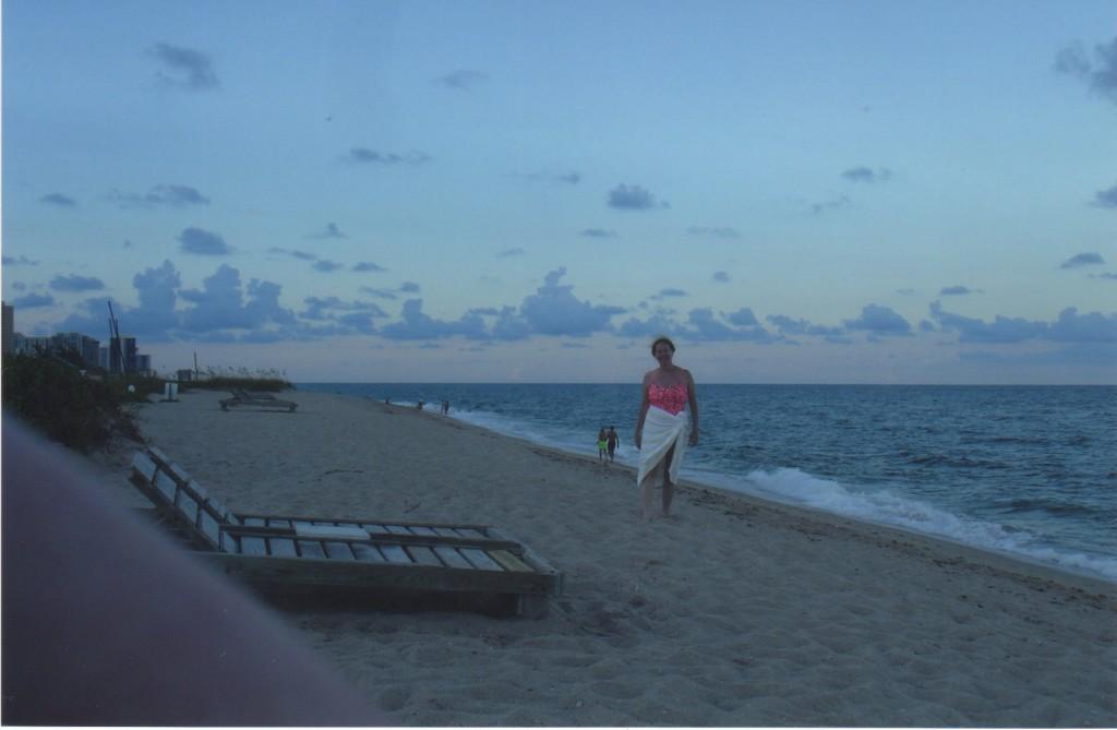 Singer Island beachcombing