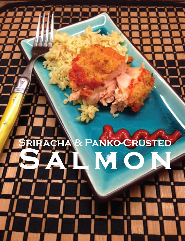 Sriracha & Panko-Crusted Salmon
