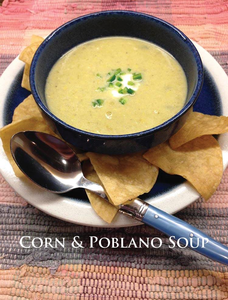 Corn & Poblano Soup
