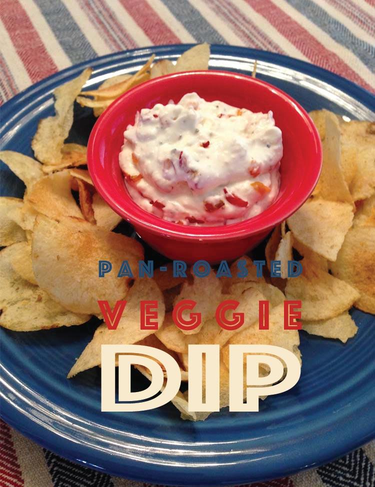 Pan-Roasted Veggie Dip
