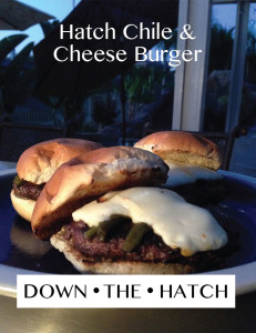 Hatch Chile & Cheese Burger