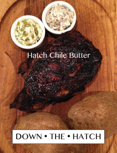 Hatch Chile Butter