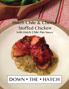 Hatch Stuffed Chicken
