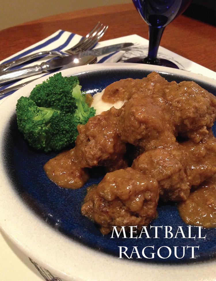 Meatball Ragout