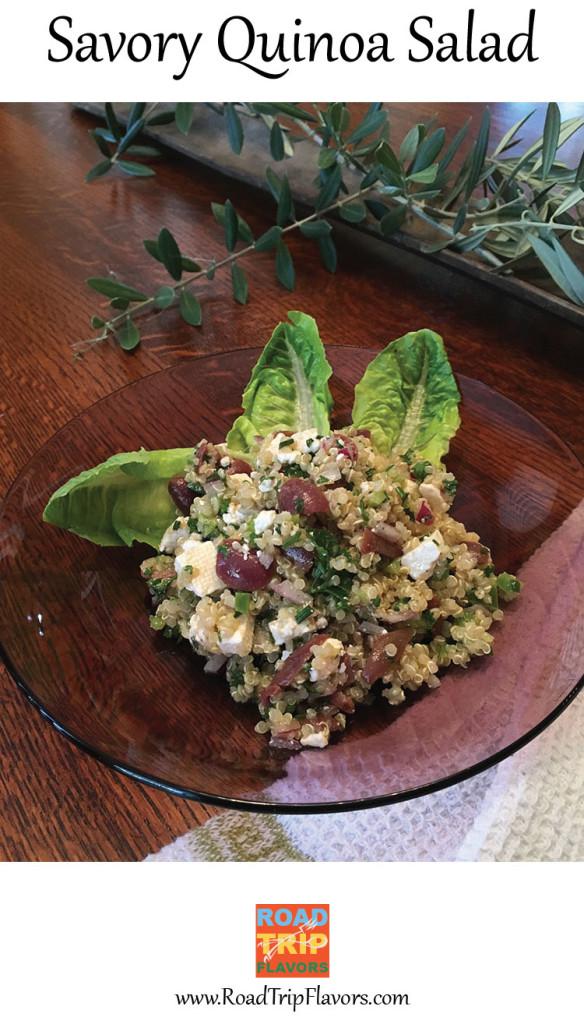 Savory Quinoa Salad