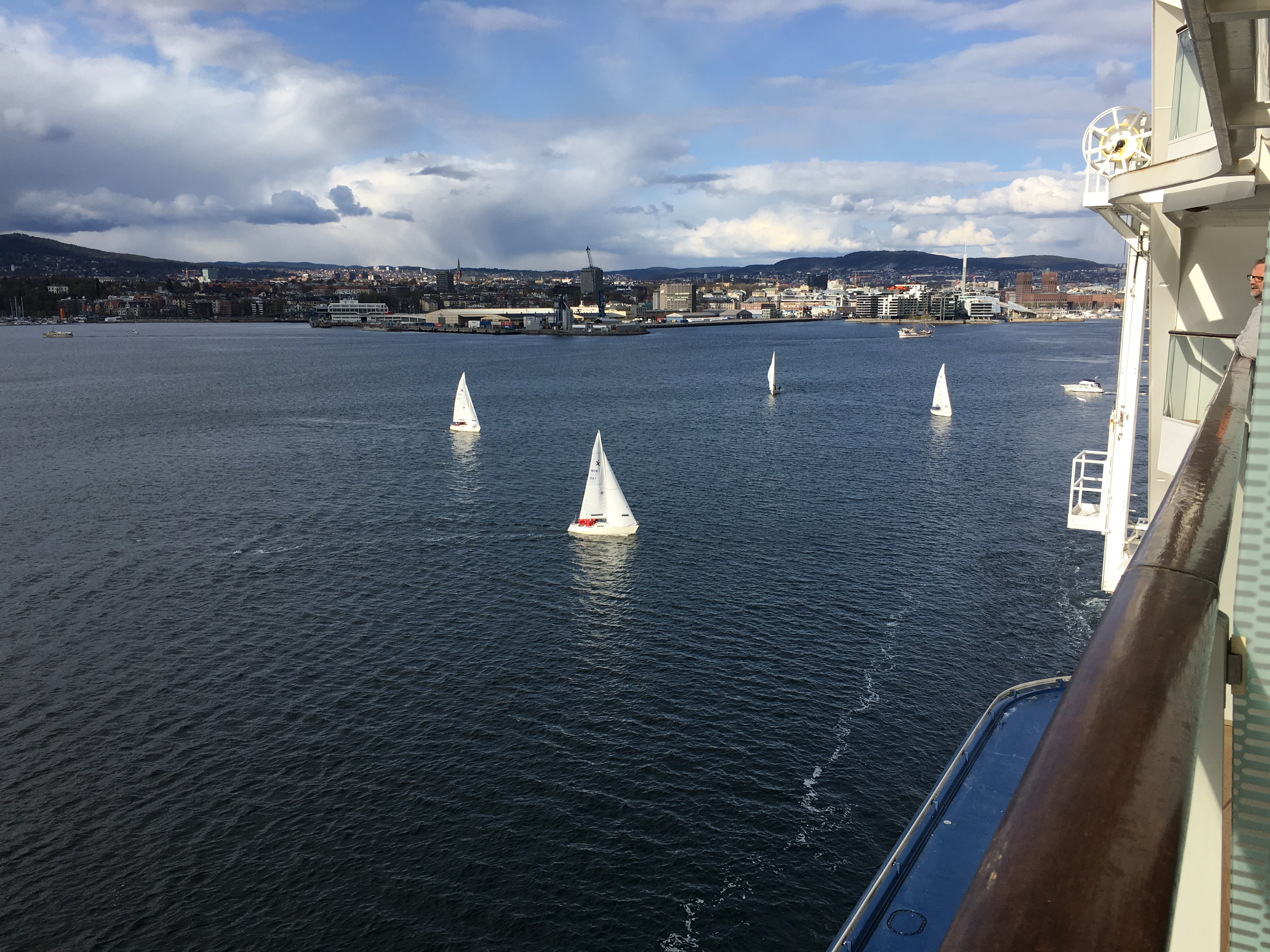 Oslo Harbor sailing