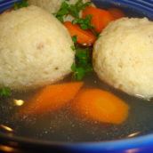 What's Comforting, Warm and Sure to Make Your Day Better?  Matzo Ball Soup